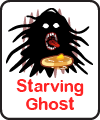 LINE Sticker - Starving Ghost